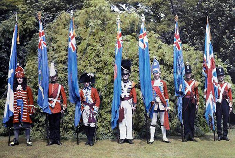 1247 Англия на цветных фото 1928 года