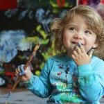 Аэлита Андре – самая юная художница в мире