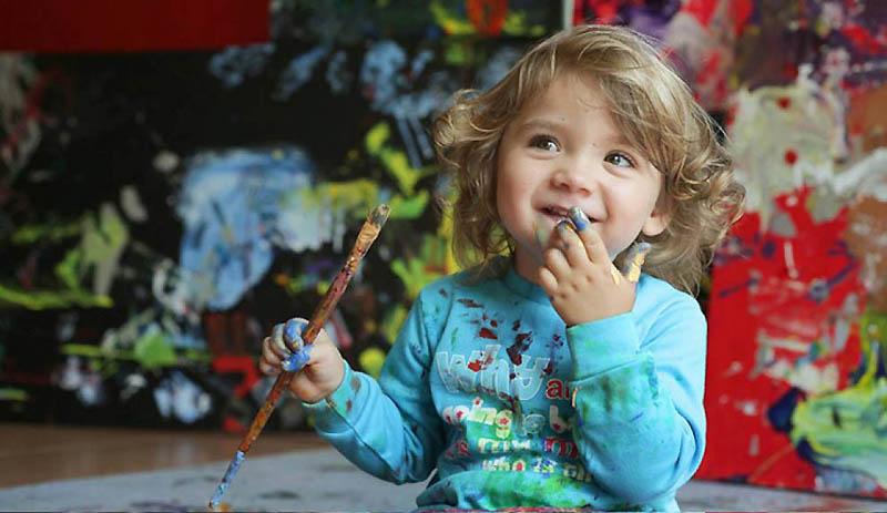 1305 Аэлита Андре – самая юная художница в мире