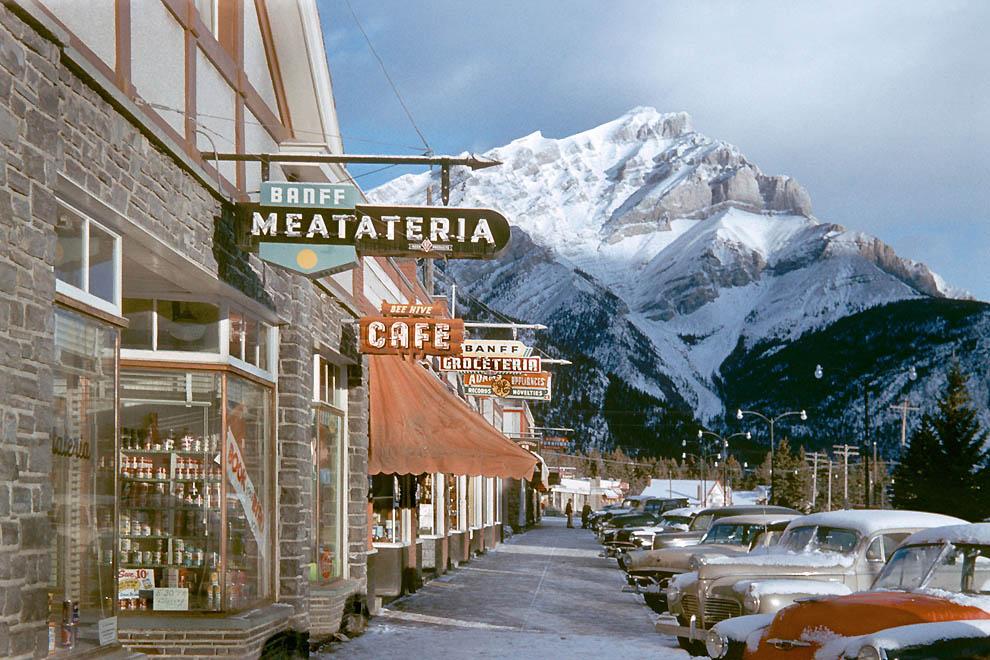 1356 Цветные фотографии Фреда Херцога из 1960 х: Ванкувер и не только