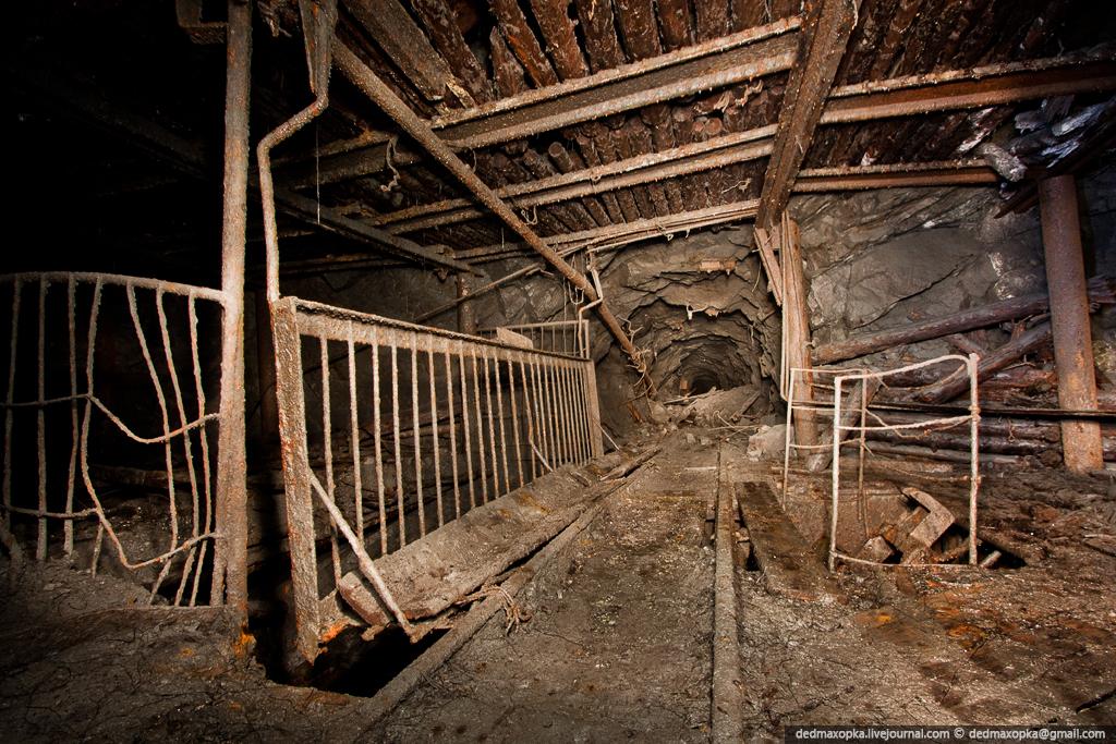 Ditinggalkan bijih besi tambang di 1372
