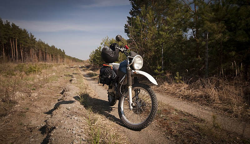1386 Два дня на мотоцикле в чернобыльской зоне