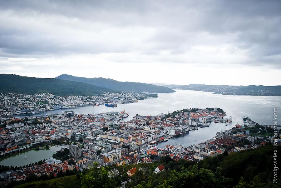 1400 Берген   Ворота норвежских фьордов