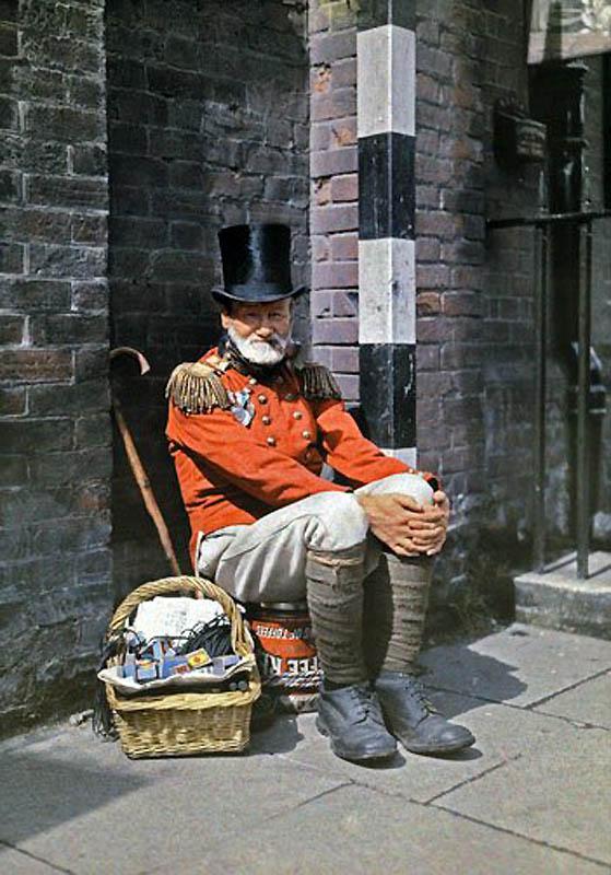 1444 Англия на цветных фото 1928 года