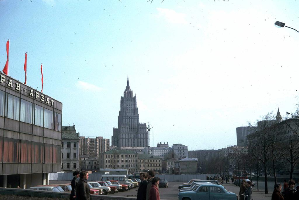 1448 Москва 1982 года: семнадцать мгновений весны