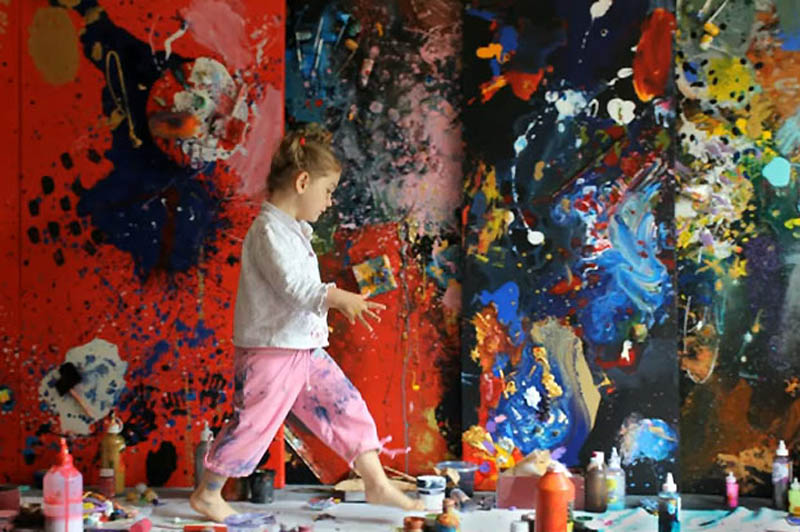 1478 Аэлита Андре – самая юная художница в мире