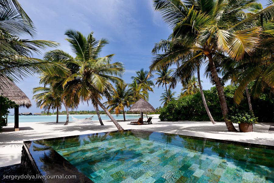1495 Лучший в мире курортный отель на Мальдивах