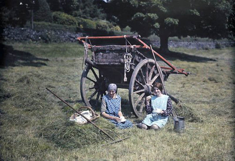 1542 Англия на цветных фото 1928 года
