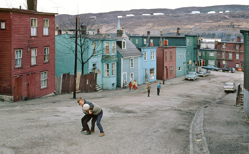 1552 Цветные фотографии Фреда Херцога из 1960 х: Ванкувер и не только