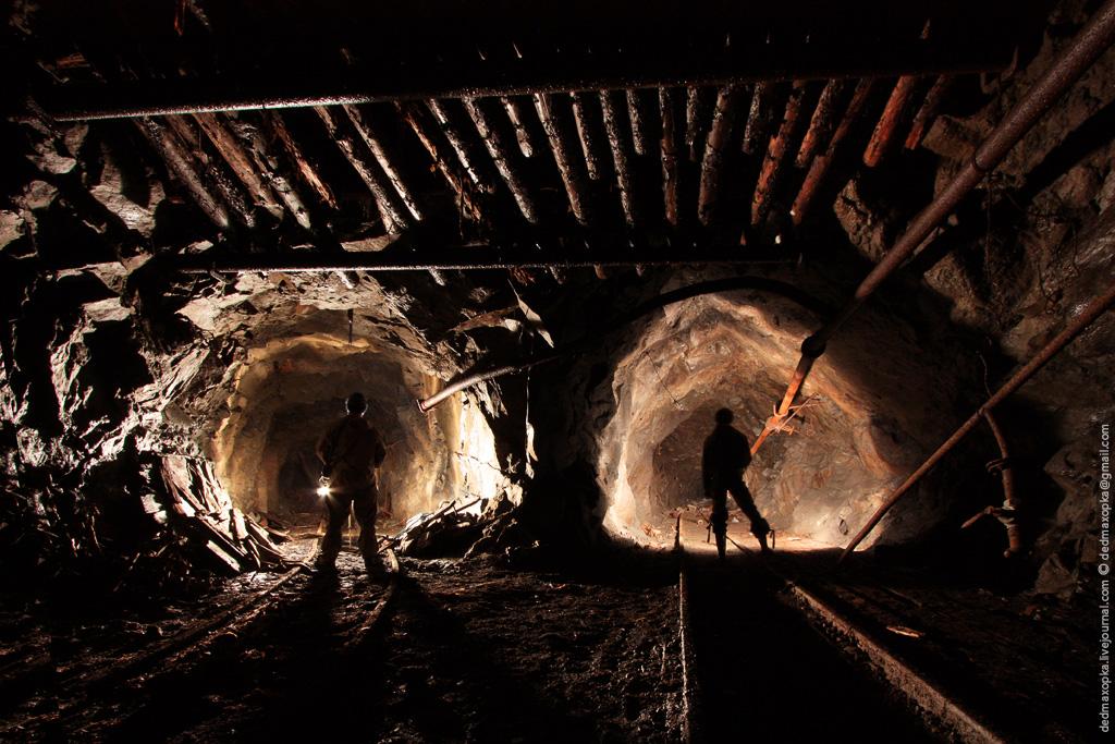 Ditinggalkan tambang bijih besi pada tahun 1565