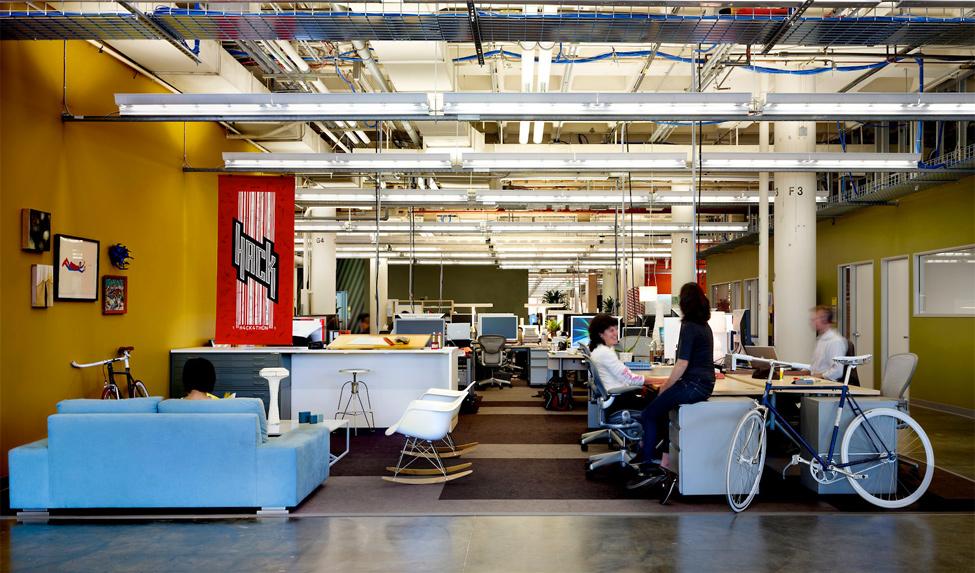 1578 Главный офис компании Facebook