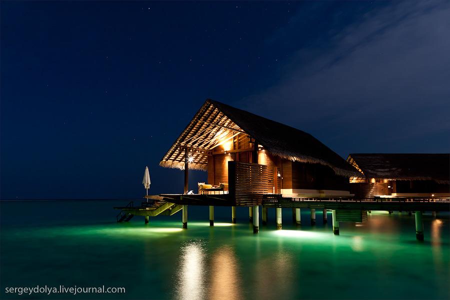 1590 Лучший в мире курортный отель на Мальдивах
