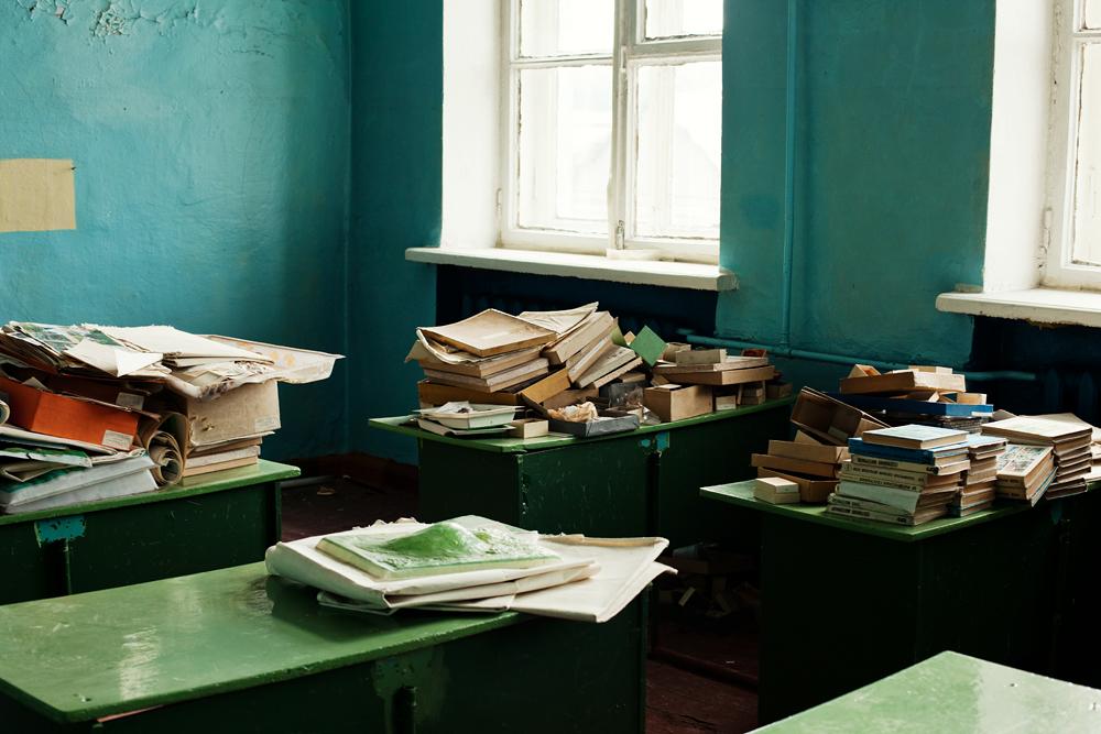 1654 Заброшенная школа на Кольском полуострове