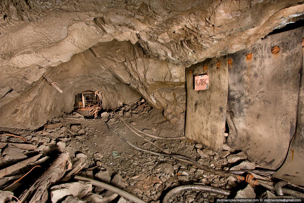 Ditinggalkan tambang bijih besi pada tahun 1660