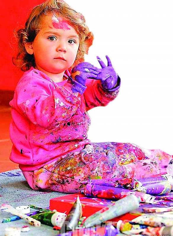 1670 Аэлита Андре – самая юная художница в мире