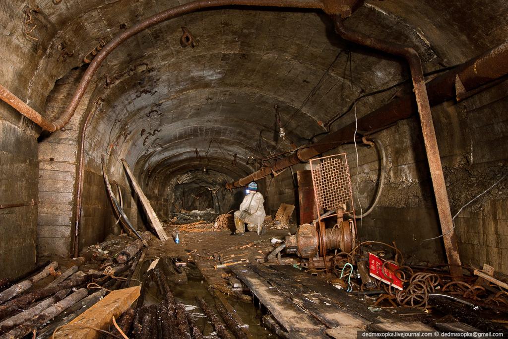 Ditinggalkan tambang bijih besi pada tahun 1853