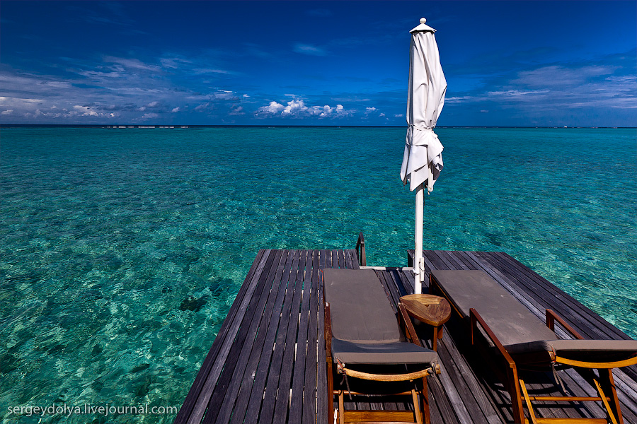 1870 Лучший в мире курортный отель на Мальдивах