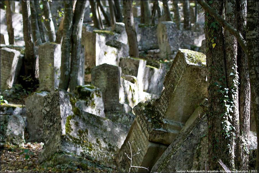20 101 pemakaman Karaite kuno di Lembah Yosafat