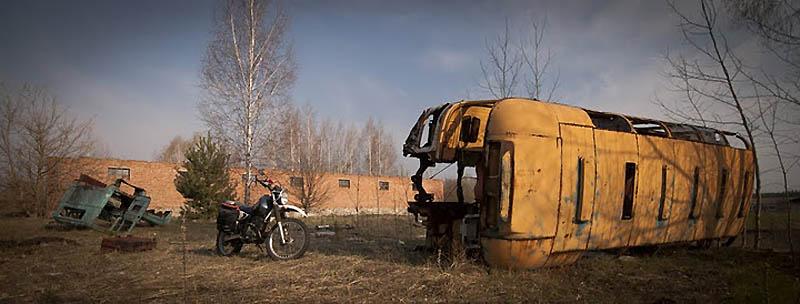 2049 Два дня на мотоцикле в чернобыльской зоне