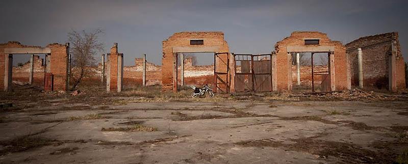 21106 Два дня на мотоцикле в чернобыльской зоне