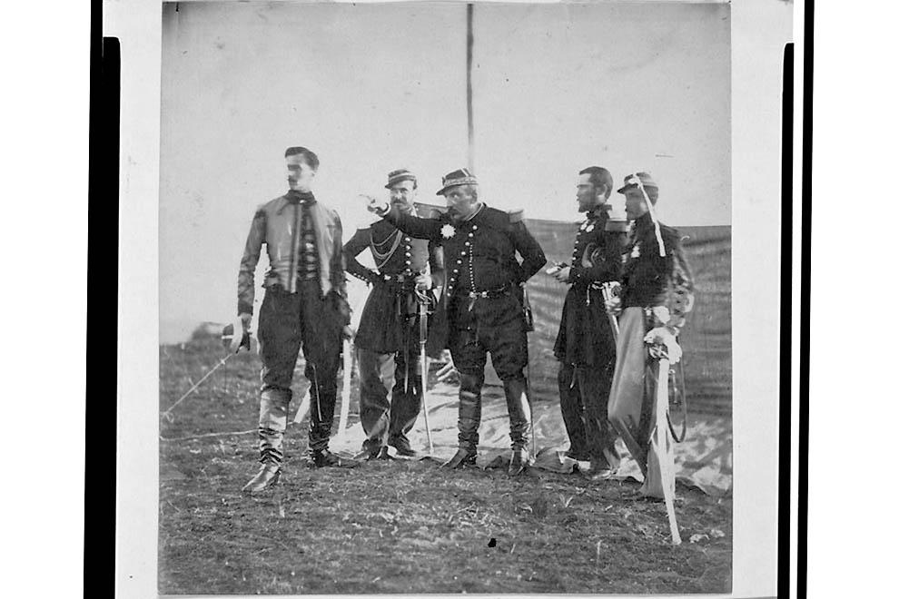 2122 Фотографии времен Крымской войны