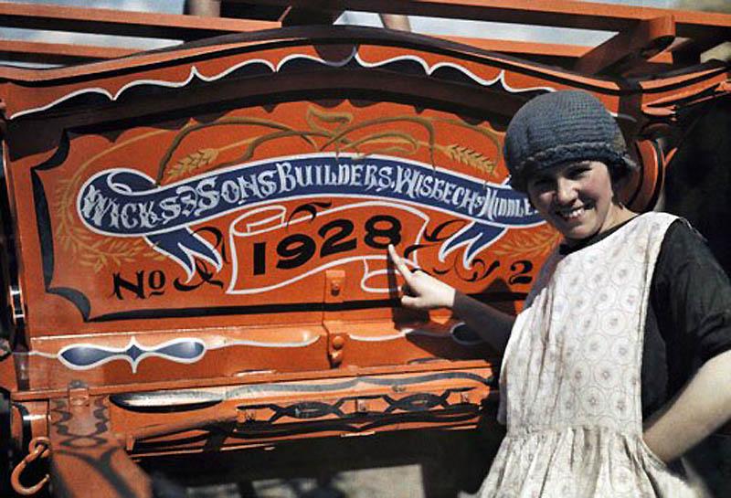 2156 Англия на цветных фото 1928 года