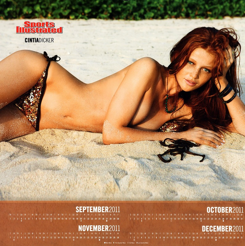 Sports Illustrated 2199 Kalender 2012