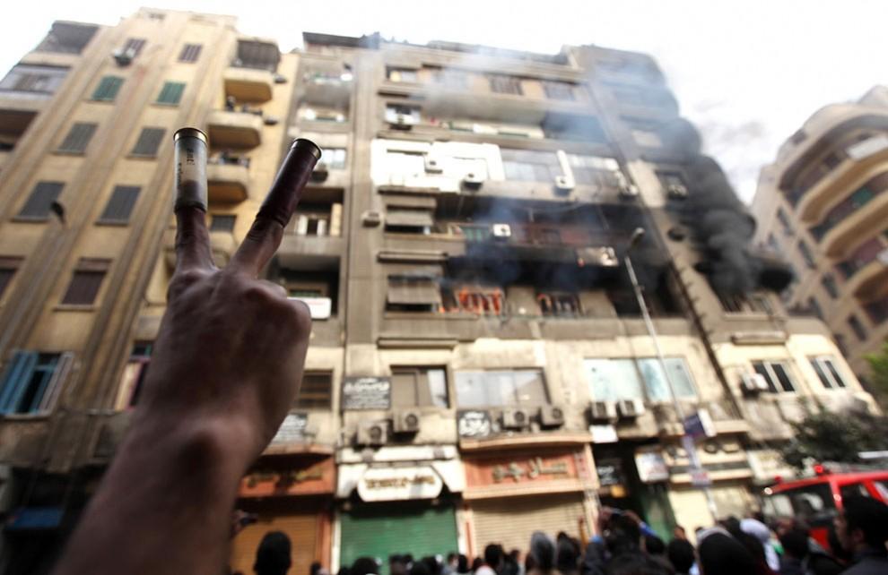 Новые беспорядки вКаире