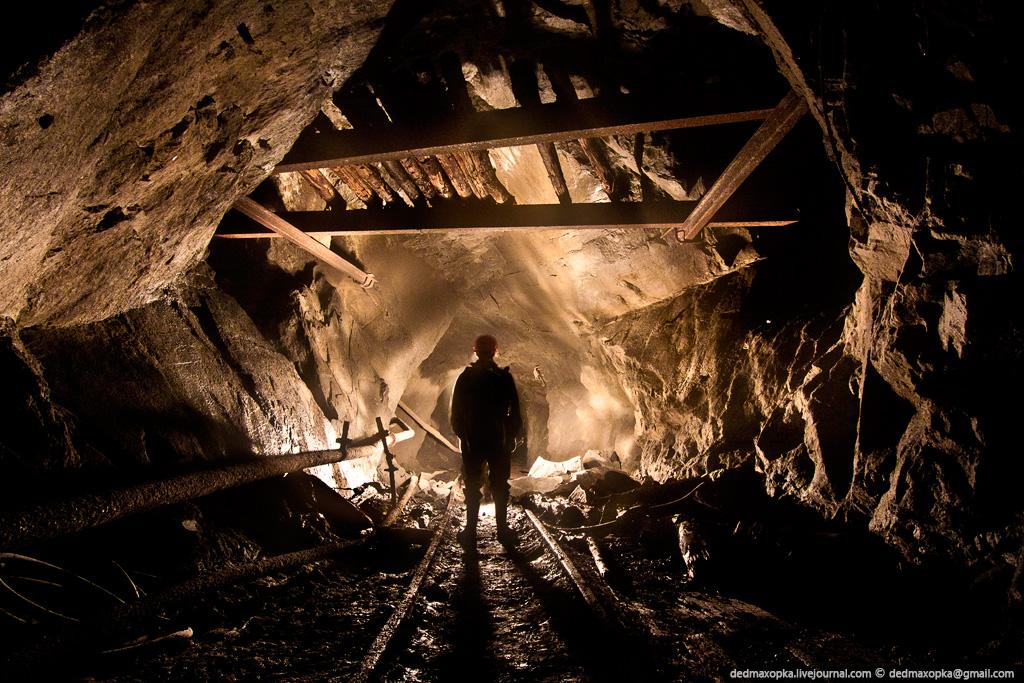 Ditinggalkan bijih besi tambang di 2237
