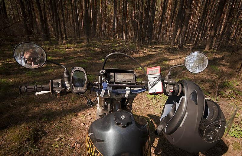 2248 Два дня на мотоцикле в чернобыльской зоне