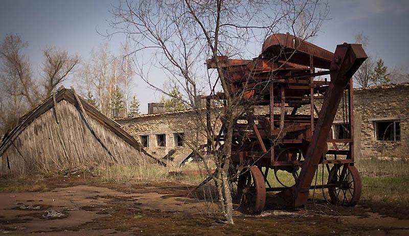 2249 Два дня на мотоцикле в чернобыльской зоне