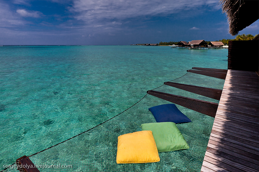 2271 Лучший в мире курортный отель на Мальдивах