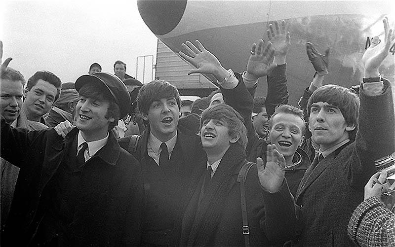 2293 Битлз: неизвестные фотографии первого американского турне 1964 года