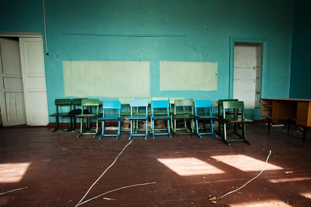 2332 Заброшенная школа на Кольском полуострове