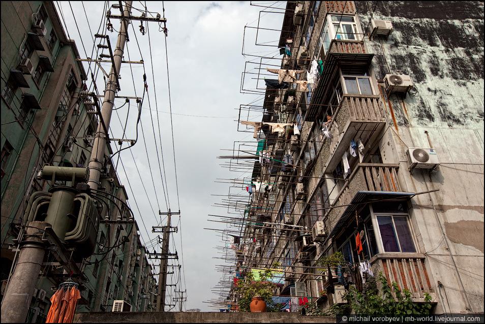 Шанхай трущобы фото