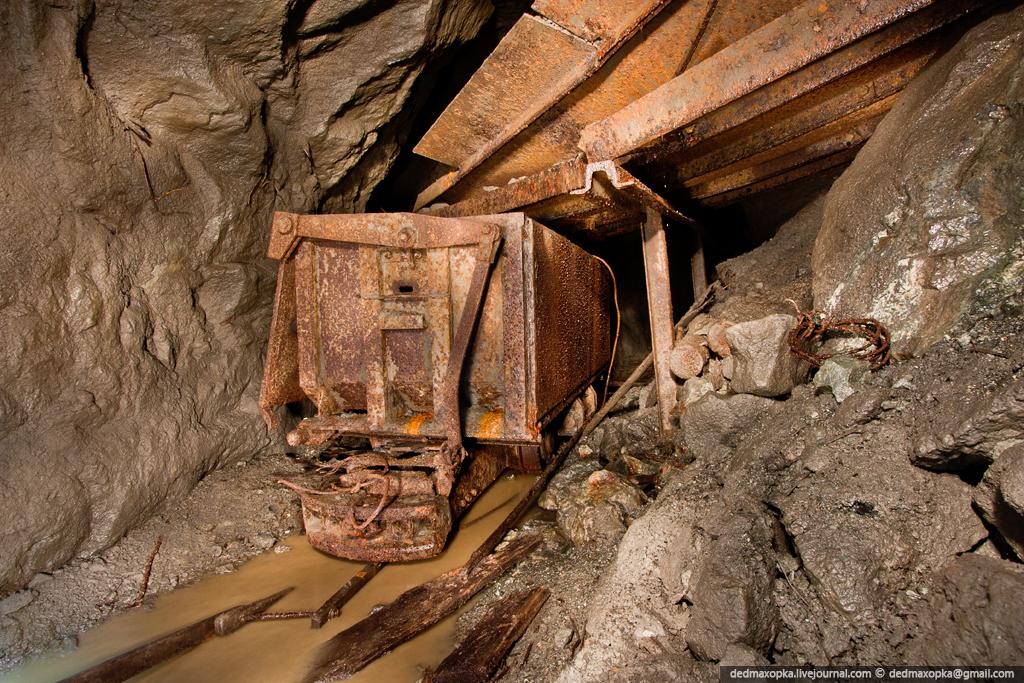 Ditinggalkan bijih besi tambang di 2434