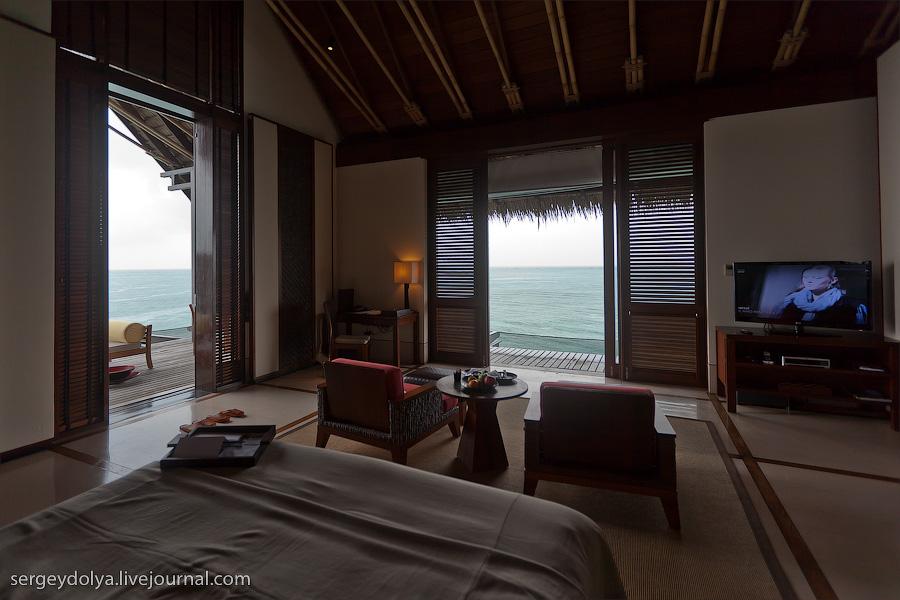 2448 Лучший в мире курортный отель на Мальдивах