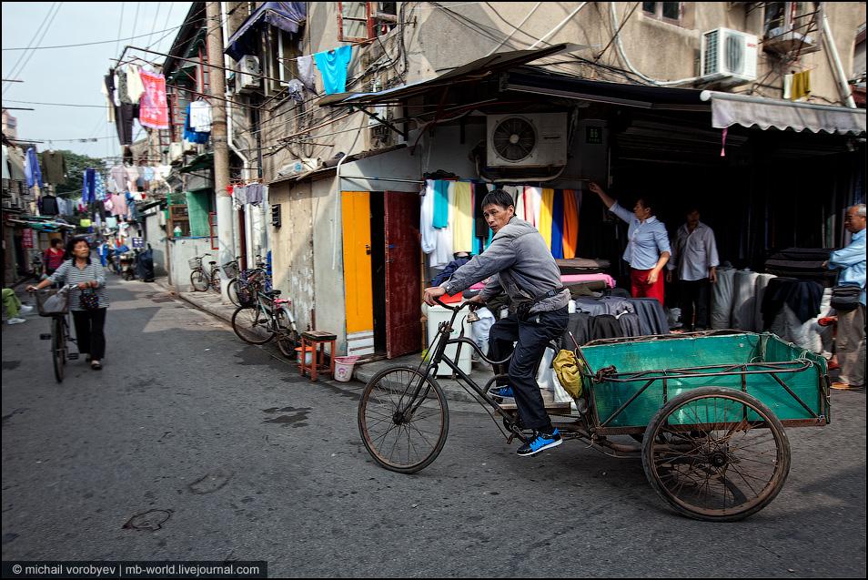 2462 Китай: Шанхайские трущобы