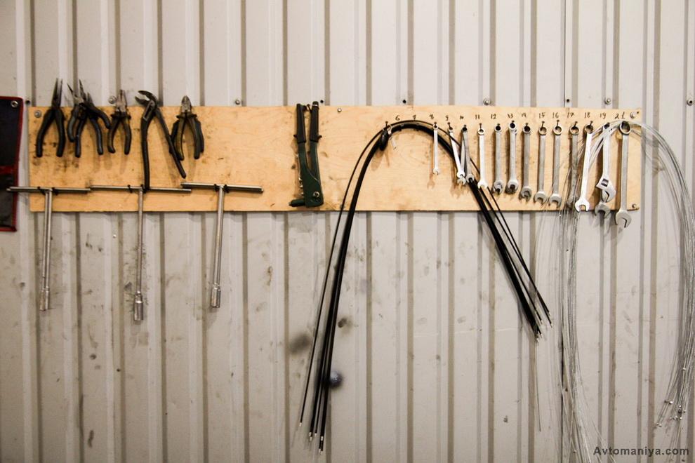 Держатель для инструмента своими руками в гараж