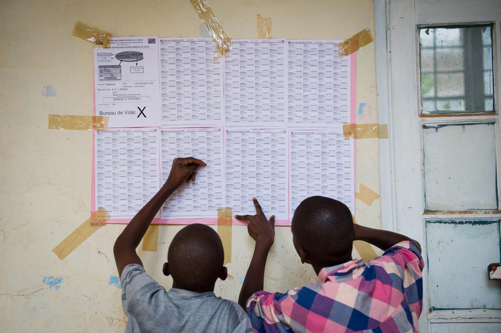 Pemilu 2575 di Mesir dan Kongo
