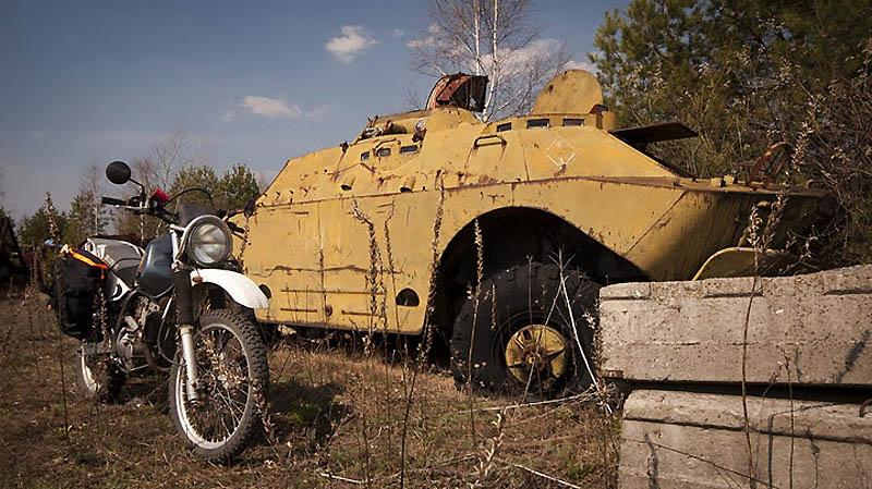 2734 Два дня на мотоцикле в чернобыльской зоне