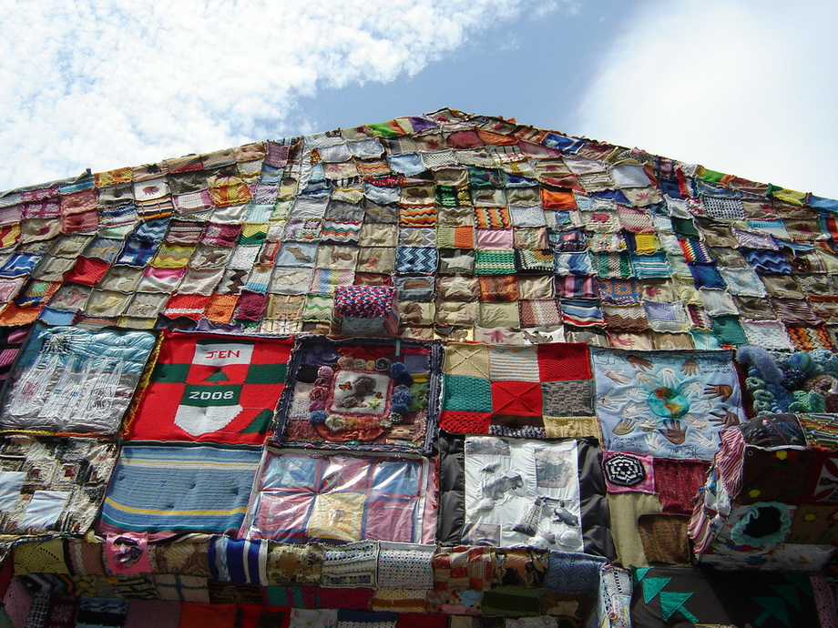 2866 Urban knitting   Шерстяной стритарт