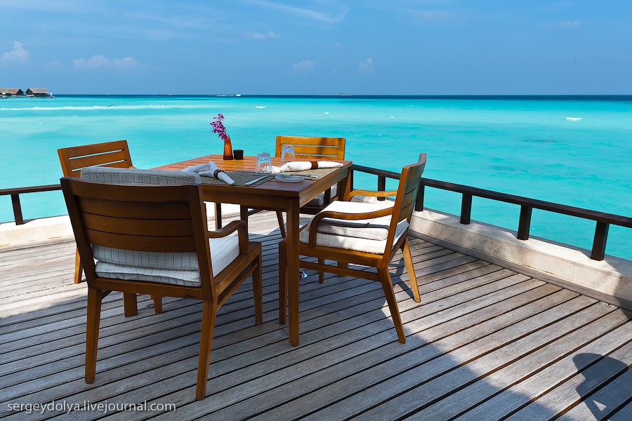 2937 Лучший в мире курортный отель на Мальдивах