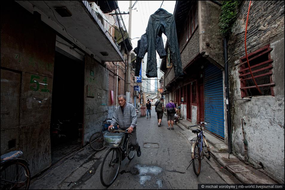 2950 Китай: Шанхайские трущобы
