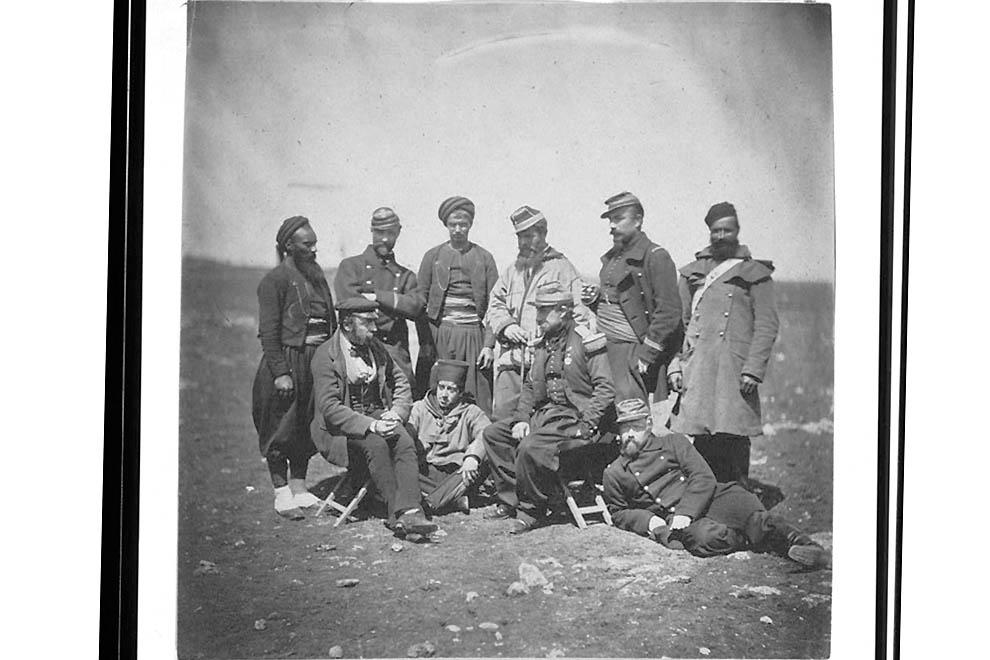 3017 Фотографии времен Крымской войны