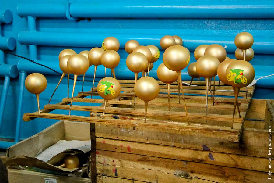 3032 Фабрика ёлочных игрушек
