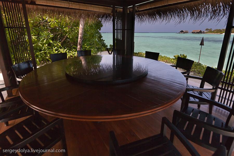 3036 Лучший в мире курортный отель на Мальдивах