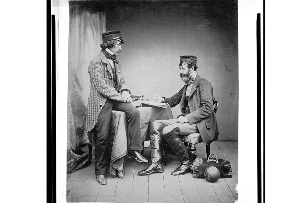 3103 Фотографии времен Крымской войны