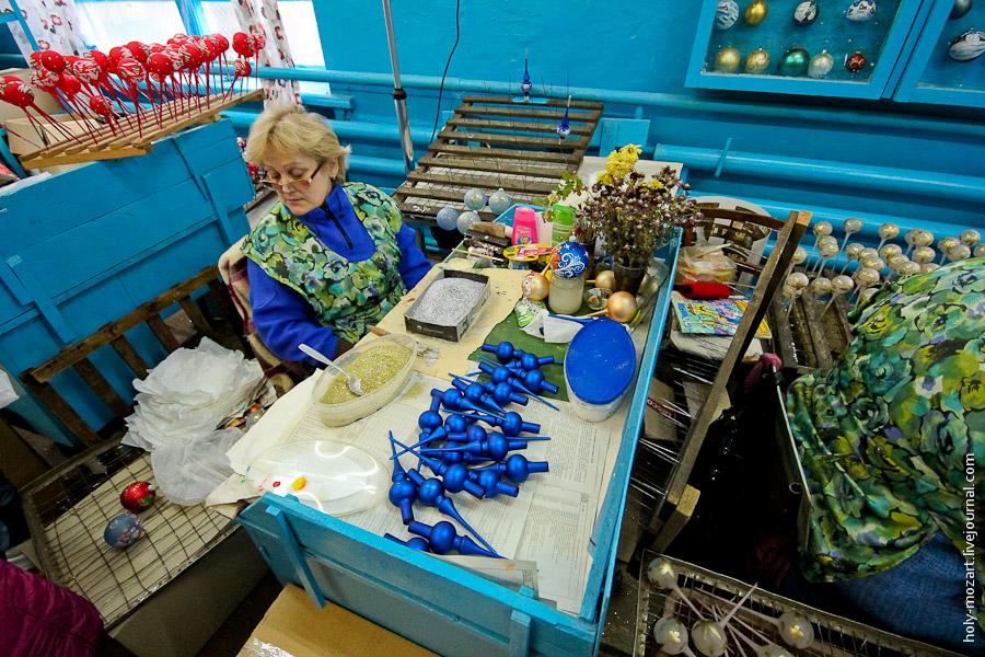31101 Фабрика ёлочных игрушек