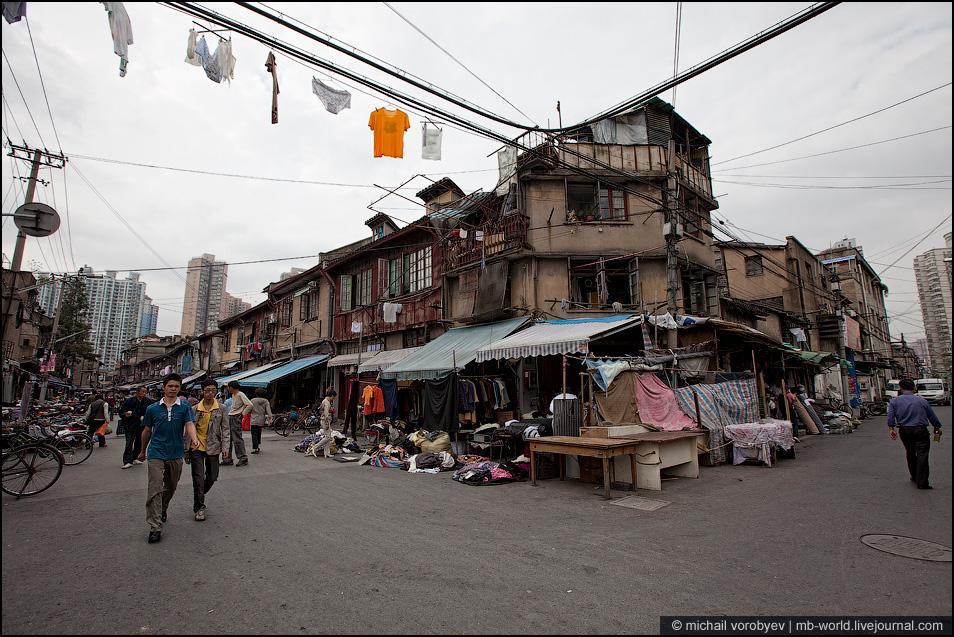 中国贫民窟风景_31116中国:上海的贫民窟